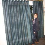 Gleichmäßige, elegante Falten – Der neue Wellenvorhang von Interstil