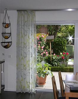 Referenz esszimmer gardinen raumausstatter m ller - Esszimmer gardinen ...