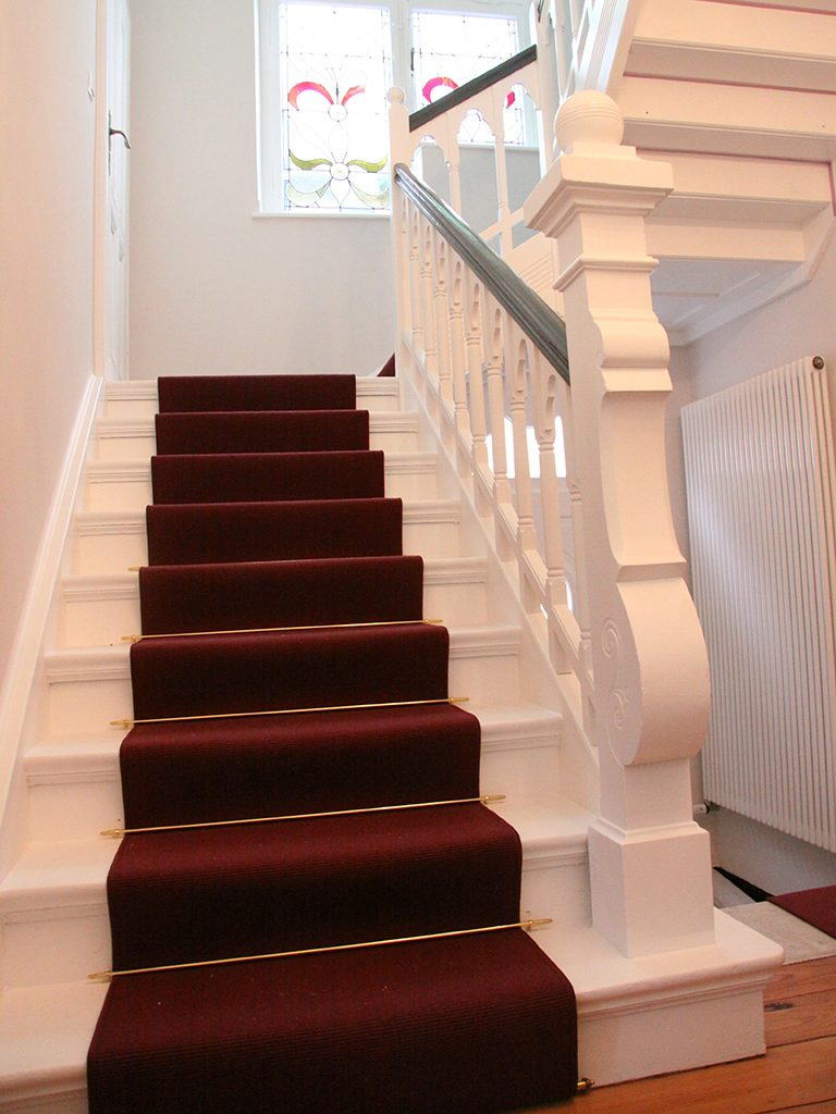 Treppenlaeufer denkmalgeschuetzes Haus