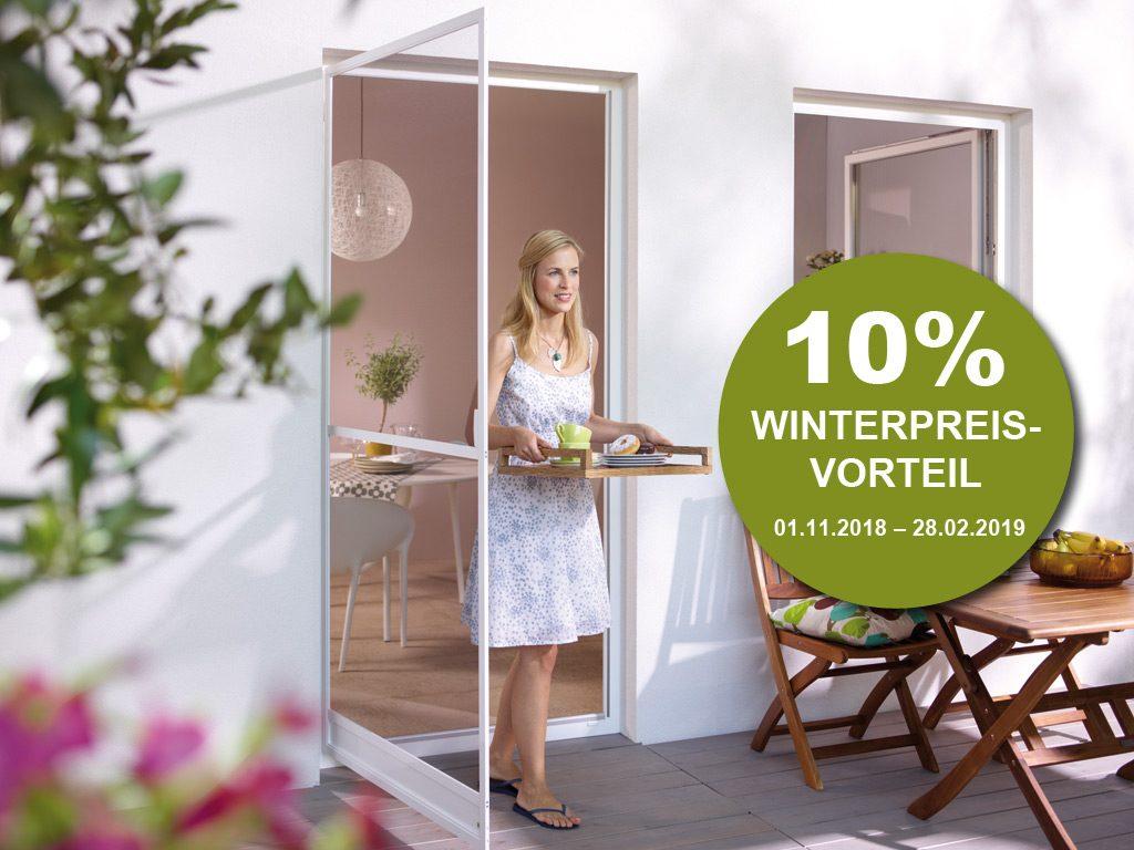 Neher Insektenschutz: Jetzt Wintervorteil nutzen