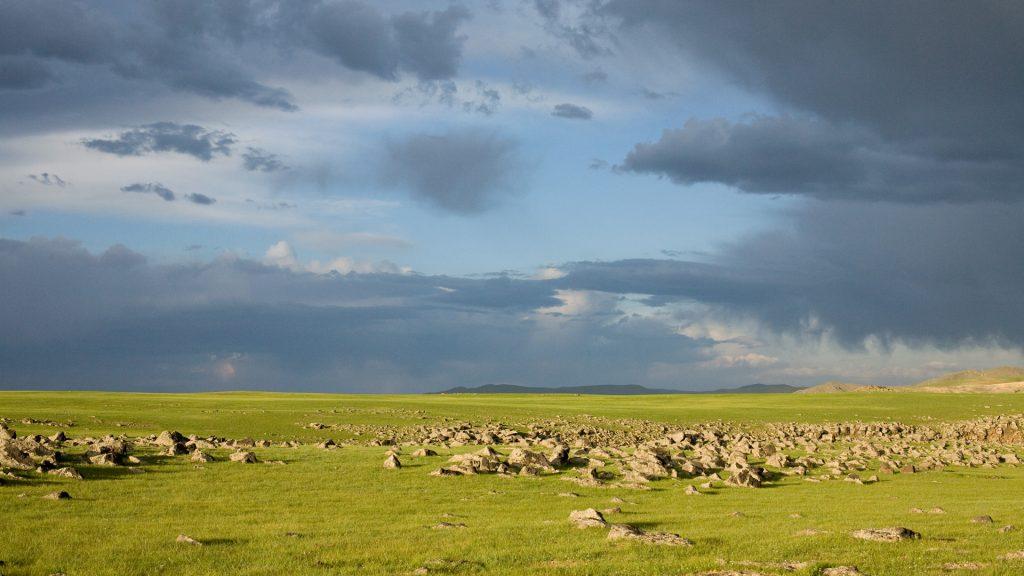 Landschaft-Mongolei