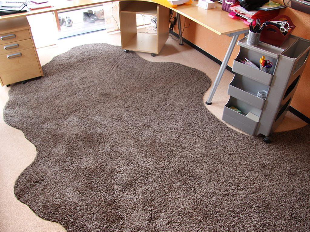 Teppichboden-Zuschnitt nach Kundenwunsch