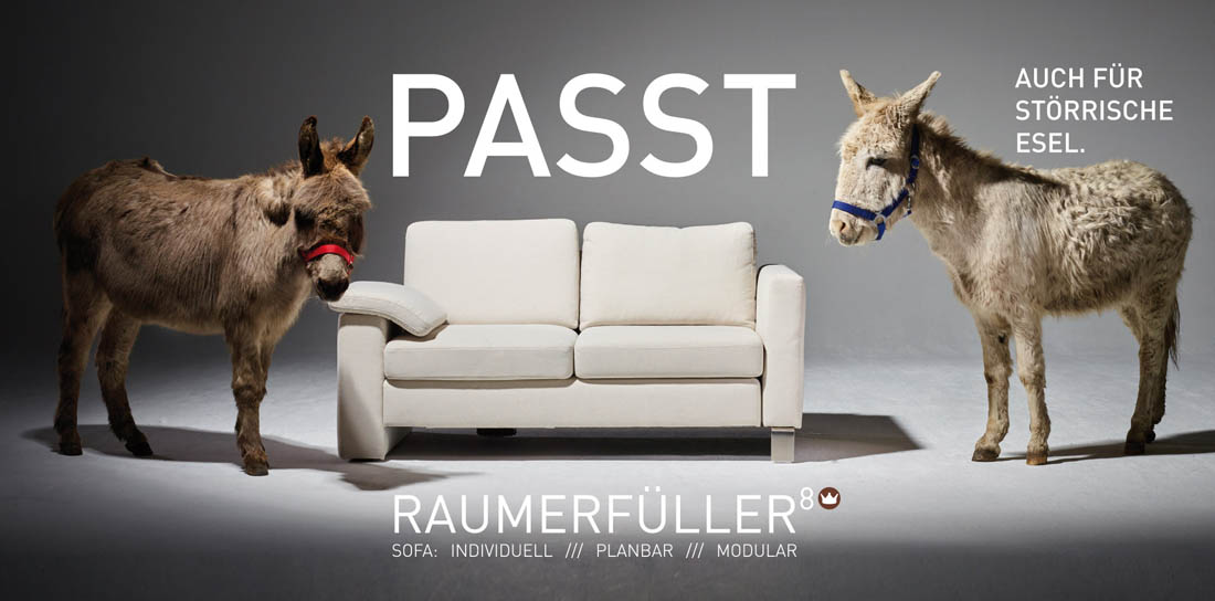 Raumerfüllter 8 Sofa